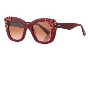 ✨KATE SPADE✨ 'Drystle' Flower Trim Sunglasses!!